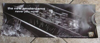 "New Amsterdams ""Never You Mind"" Poster The Get Up Kids Matt Pryor"