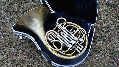 Selmer   (Bach)  Double French Made Usa Compression Good  Cleaned Dissinfected