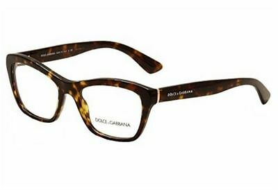 d71a077469ce ... 3116 1901 Black Lace Eyeglasses New 53mm Authentic.  154.00 Buy It Now  9d 15h. See Details. Dolce   Gabbana DG 3198 502 Shiny Havana Cat Eye  Women s ...
