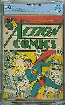 Action Comics #36 [1941] Metal Men Menace