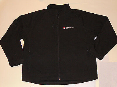 Genuine Toyota Embroidered Black Jacket! Stormtech Showerproof! Zipper Front 3Xl