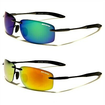 New BeOne Rimless Polarized Men's Driving Sunglasses