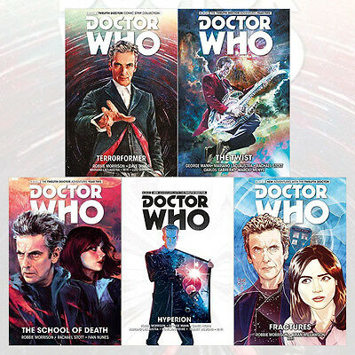 Doctor Who : The Twelfth Doctor Series (Vol.1-5) Collection 5 Books Set New Pack