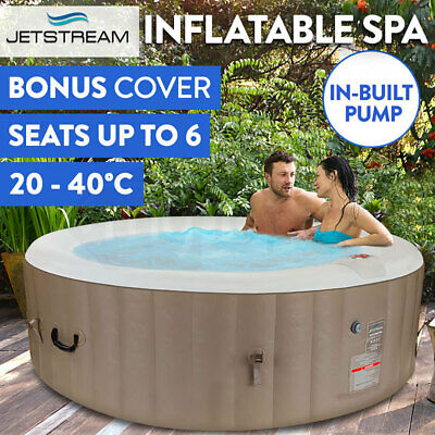 Inflatable Spa Massage Portable Jacuzzi Hot Tub Indoor Outdoor Bath Pool