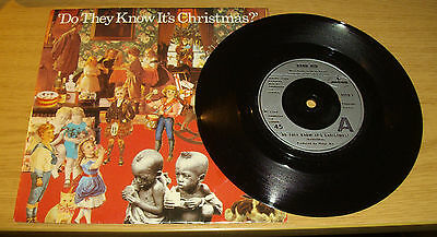 Band Aid ~ Do They Know It's Cristmas  ~ 7 Inch Vinyl Single