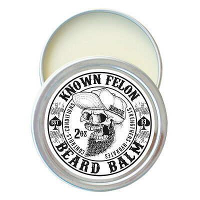 Known Felon 2oz Beard Balm - Choose from 5 Cologne type Scents