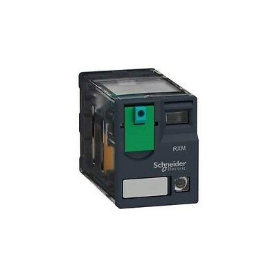 Schneider Electric RXM4AB2BD 4PDT Miniature Relay with LED 24VDC 6A