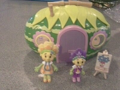 Fifi & Flowertots Forget Me Not Primrose cottage  set immaculate  condition