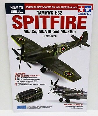 How to Build - Tamiya's 1:32 Spitfire                82 Pages       New    Book