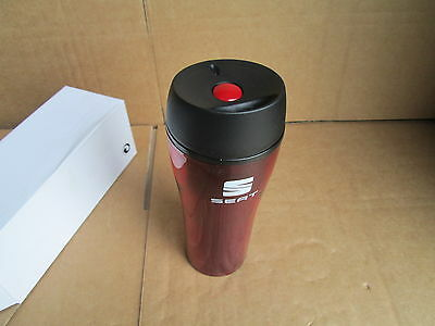 New Genuine Seat Thermo Car Mug Red With Seat Logo Zgb7010712044