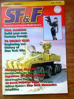 SF & F vol 1, issue 1, Sci-Fi and Fantasy Model Review, First Issue, Jan 1994