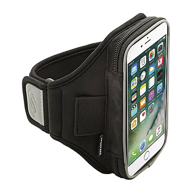 Sporteer Velocity V5 Running Armband for iPhone 7, iPhone 6S & iPhone 6 (Black)