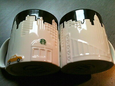 STARBUCKS CITY MUG NEW YORK CITY  RELIEF MUG Tasse USA