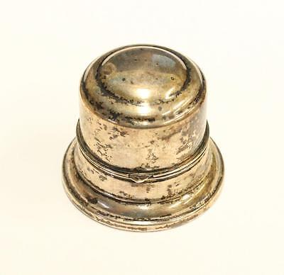 BIRKS Vintage Sterling Silver Ring Box needs cleaning & very small dents