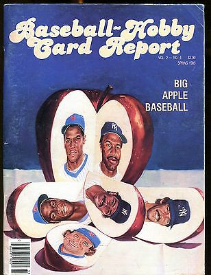 Baseball Hobby Card Report Spring 1985 T206 w/Mint Cards jhscd