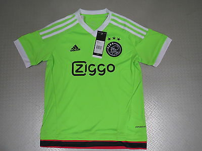 Kids Leotard Ajax Amsterdam Away 15/16 Orig adidas Size 128 140 152 164 176 neu