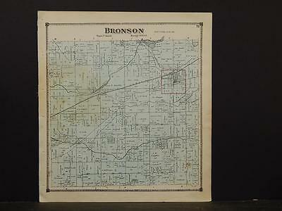 Michigan, Branch County Map, 1872, Bronson Township, Y3#41