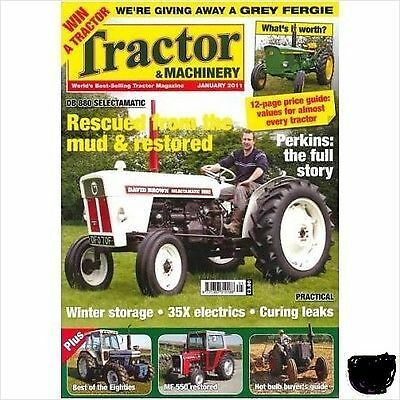 tractor & machinery from jan 2011, perkins the full story, rescued & restored