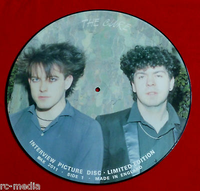 """THE CURE - Interview - Rare UK 12"""" Picture Disc"""