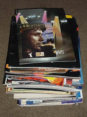 Lot of 102 Rock & Pop UK Tour Programmes 1971 - 2015 (A few with tickets)