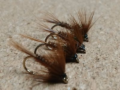 Brown Cruncher Trout Buzzers Trout Lures Fly Fishing Trout Flies