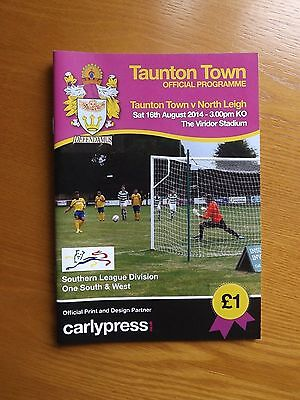 TAUNTON TOWN v NORTH LEIGH - Southern Lge 2014/15