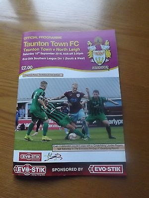 TAUNTON TOWN v NORTH LEIGH - Southern Lge 2016/17