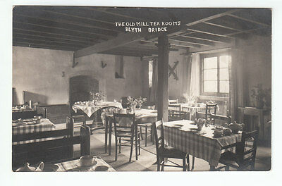 The Old Mill Tea Rooms Blyth Bridge Peebles Early 1900's Old Postcard Unposted