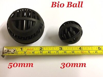Filter Media Bio Ball Fish Tank Sump Pond Marine Aquarium Clean Water Free P + P