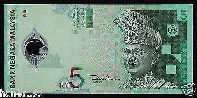 MALAYSIA (P47) 5 Ringgit ND(2004) UNC POLYMER