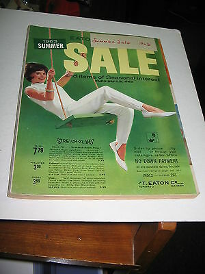 1963 T  Eaton Co  Summer  Sale Catalog Complete On 228 Pages