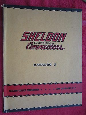 1940 Sheldon Service Corp. Ny, Electrical Connectors Catalog With Tech Info