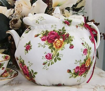 Royal Albert Old Country Roses Fabric Teapot Tea Cozy ..limited!!!!