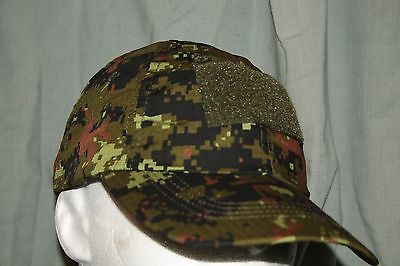 Canadian Digital/ Cadpat Tactical Ball Cap Ripstop/ 3 Patch   one size fits most