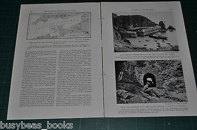 1932 magazine article, The Feudal Isle of SARK, Channel Islands, history people