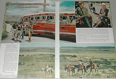 1956 magazine article, Philmont BOY SCOUT Ranch, New Mexico,