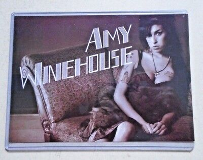 "Amy Winehouse - Orig. Vintage Promo Postcard / Exc.+ new cond. - 5 x 7"" RARE"