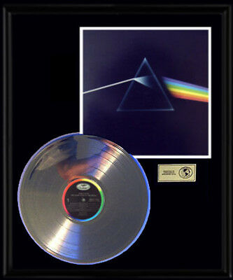 Pink Floyd Dark Side Of The Moon Rare Gold Record Platinum  Disc Album Rare Lp