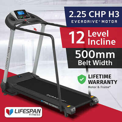 Lifespan Fitness New Electric Treadmill Quiet EverDrive® Motor Reformer