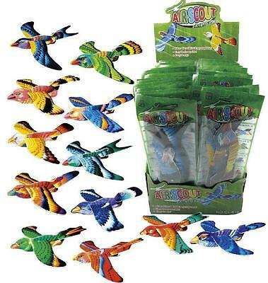 Bulk Lot x 6 Girls Air Scout Amazing Glider Birds New Party Favors Novelty Toys