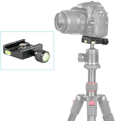 Neewer Universal CNC QuickRelease Plate Clamp for Gitzo Manfrotto RRS Arca-Swiss