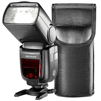 Neewer GN60 2.4G Manual HSS Flash Speedlite for Sony A7 A7S A7SII A6300 A6000