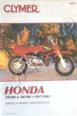 Honda XR 70 1997-2003 Manual Clymer