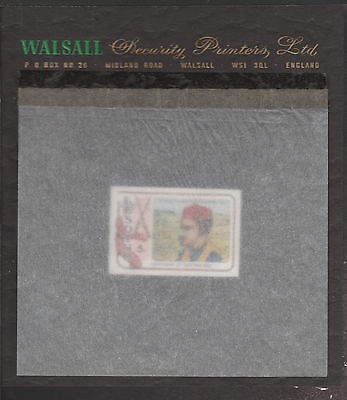 Lesotho (1871) - 1980 Gun War imperf 5s on WALSALL PROOF CARD