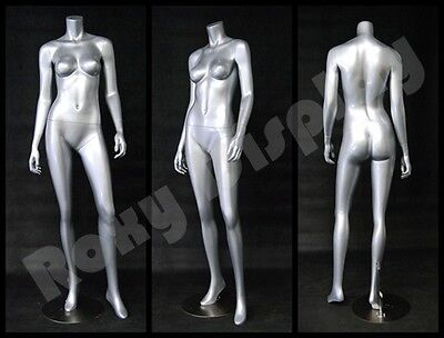 Fiberglass Female Headless Display Mannequin Manikin Manequin Dress Form #A3BS-S