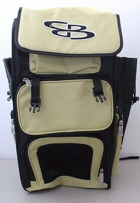 Boombah Baseball Softball Batting Bags Vegas Gold Black Superpack