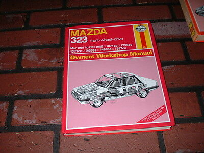 Haynes Manual For Mazda 323.front Wheel Drive. 1981 To 1989.