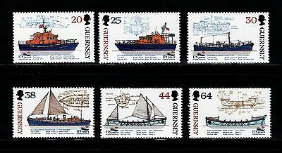 SELLOS BARCOS GUERNESEY  1999 812/179 6v.