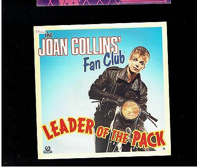 Julian Clary Joan Collins Fan Club Leader Of The Pack Ps 45 1988