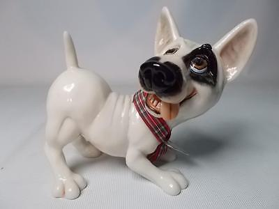 Arora Designs Comical Little Paws BILLY THE BULL TERRIER Dog Figurine Figure